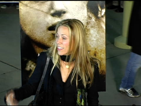 sheryl crow at the special screening of 'the jacket' at the pacific arclight theatre in los angeles california on february 28 2005 - sheryl crow stock videos and b-roll footage