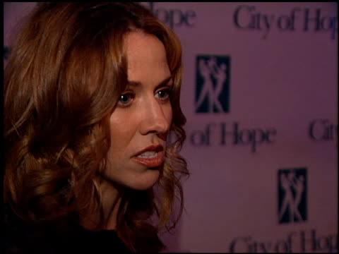 sheryl crow at the spirit of life gala at courthouse square at universal studios in universal city, california on october 11, 2001. - spirit of life awards stock videos & royalty-free footage