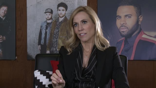 INTERVIEW Sheryl Crow at Warner Bros Records on February 28 2017 in Burbank California