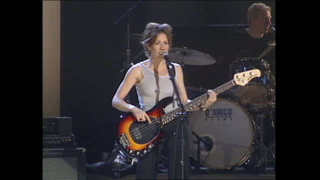 sheryl crow grammys rehearsal - sheryl crow stock videos & royalty-free footage