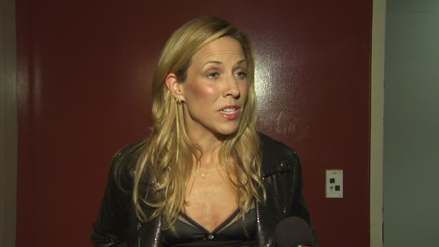 Sheryl Crow on the charity and Tiger Woods at the 5th Annual Tiger Woods Learning Center Block Party at Anaheim CA