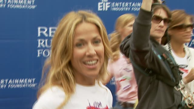 sheryl crow on the importance of attending the event what other's should know about women's cancers at the revlon run/walk for women celebration of... - sheryl crow stock videos & royalty-free footage