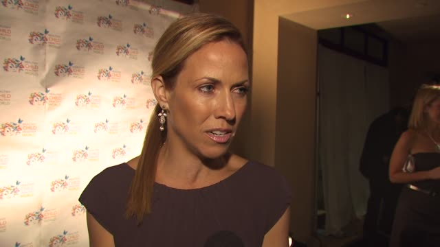sheryl crow on what she appreciates about the organization the turning point in becoming environmentally conscious what she's been most surprised to... - sheryl crow stock videos and b-roll footage