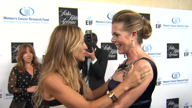 Sheryl Crow Rita Wilson at An Unforgettable Evening Benefiting The Entertainment Industry Foundation's Women's Cancer Research Fund on 4/18/12 in Los...