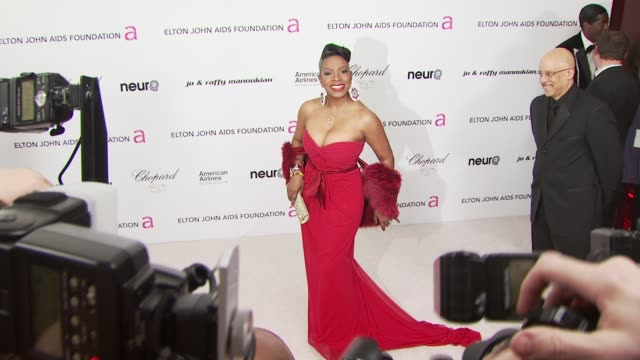 sheryl lee ralph at the 18th annual elton john aids foundation oscar party at west hollywood ca. - oscar party stock videos & royalty-free footage