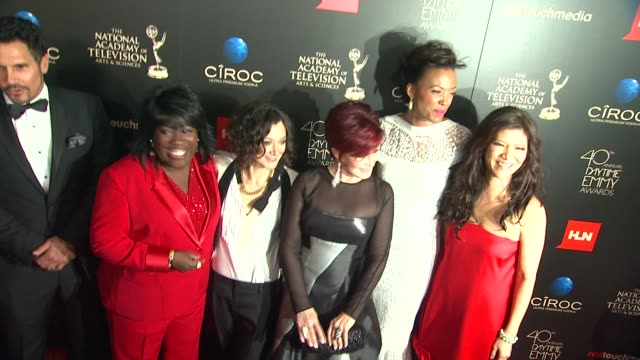 Sheryl Underwood Sara Gilbert Aisha Tyler Sharon Osbourne Julie Chen at The 40th Annual Daytime Emmy Awards on 6/16/13 in Los Angeles CA