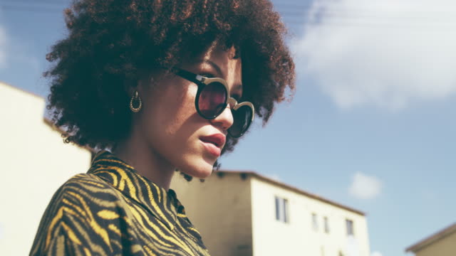 she's got that city kinda cool - afro stock videos & royalty-free footage