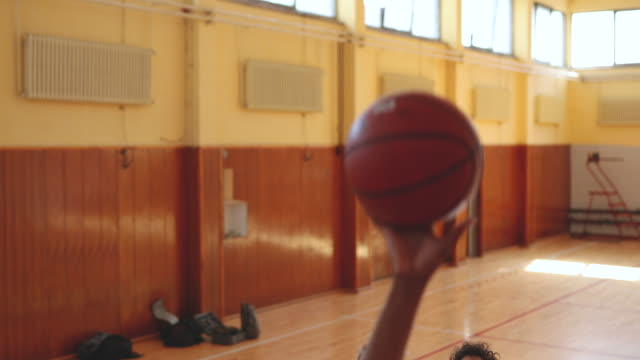 she's got this game - shooting baskets stock videos & royalty-free footage
