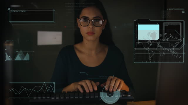 she's one dedicated coder - computer language stock videos & royalty-free footage