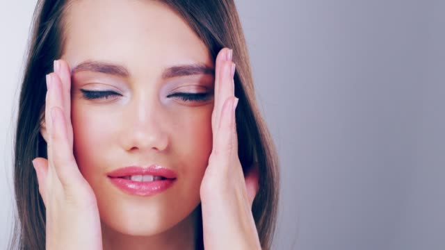 she's poreless, flawless and completely gorgeous - skin feature stock videos & royalty-free footage