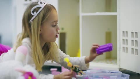 she's quite an imaginative kid - one girl only stock videos & royalty-free footage