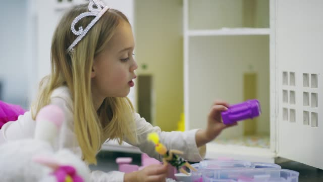 she's quite an imaginative kid - only girls stock videos & royalty-free footage