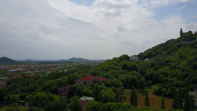 sheshan basilica, shanghai, china - hill stock videos & royalty-free footage