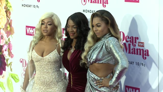 shia douglas tina douglas ashanti at vh1 dear mama a love letter to mom premieres monday may 6th at 10pm et/pt on vh1 in los angeles ca - vh1 stock videos & royalty-free footage