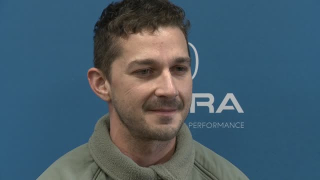 shia labeouf at 'honey boy' premiere - 2019 sundance film festival at eccles center theatre on january 25, 2019 in park city, utah. - shia labeouf stock videos & royalty-free footage