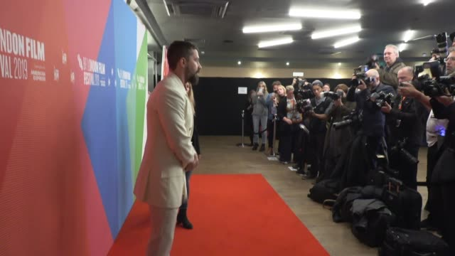 shia labeouf at odeon luxe leicester square on october 06, 2019 in london, england. - shia labeouf stock videos & royalty-free footage