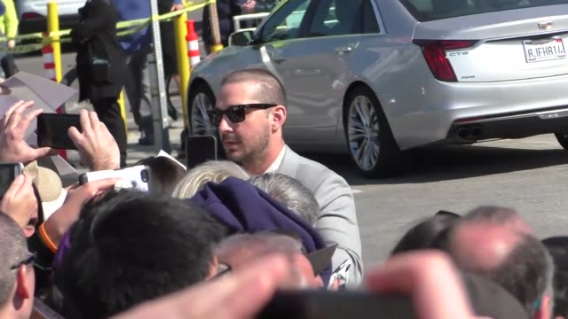 shia labeouf at the film independent spirit awards in santa monica at celebrity sightings in los angeles on february 08, 2020 in los angeles,... - shia labeouf stock videos & royalty-free footage