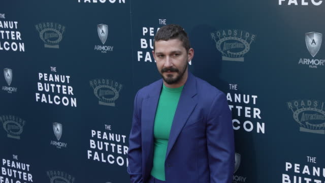 """shia labeouf at the special screening of """"the peanut butter falcon"""" at arclight hollywood on august 01, 2019 in hollywood, california. - shia labeouf stock videos & royalty-free footage"""