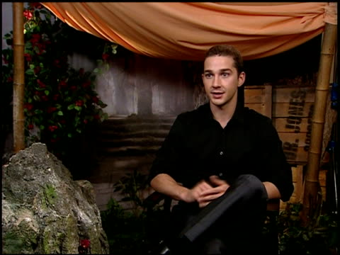 shia labeouf on being a part of the indiana jones series, and on working with harrison ford at the 2008 cannes film festival - 'indiana jones and the... - shia labeouf stock videos & royalty-free footage
