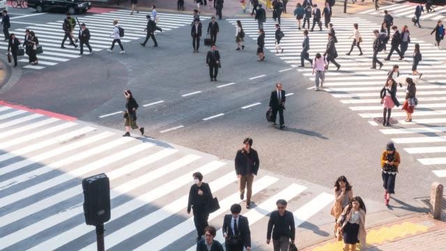 Shibuya Crossing in Tokyo Japan