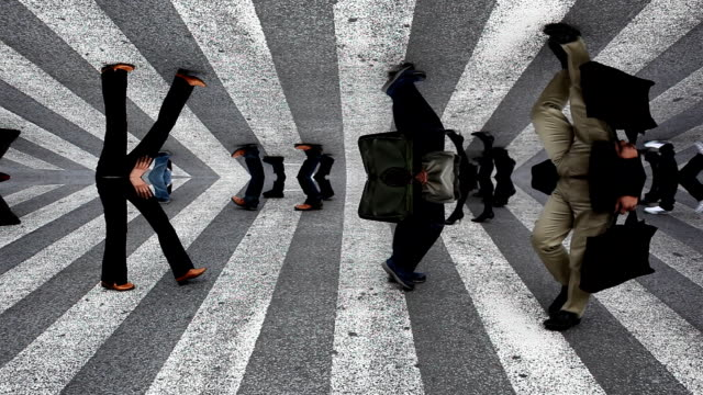 shibuya crossing surreal - surrealism stock videos & royalty-free footage
