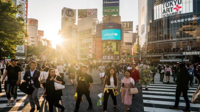 Shibuya Crossing time lapse 4K