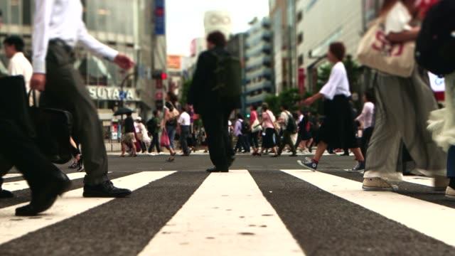 渋谷交差点 - タイムラプス 点の映像素材/bロール