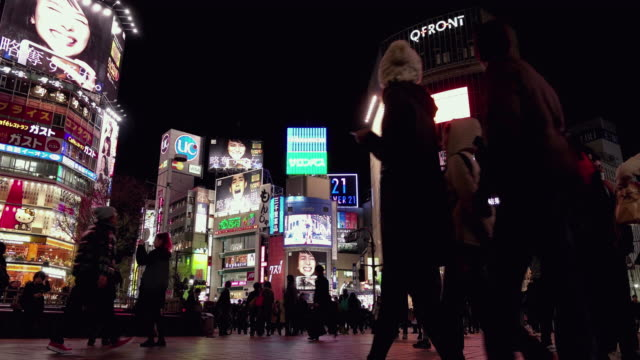 Shibuya crossing.