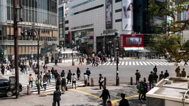 Shibuya Tokyo Pedestrian