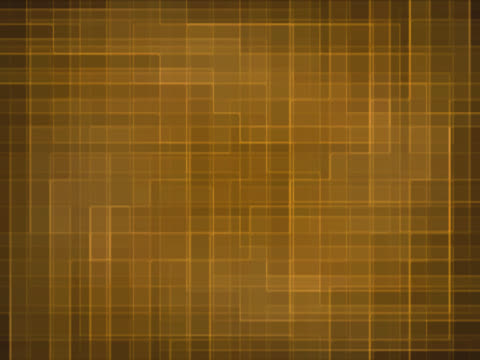 stockvideo's en b-roll-footage met cu cgi shifting and intersecting amber grid pattern - uitfaden