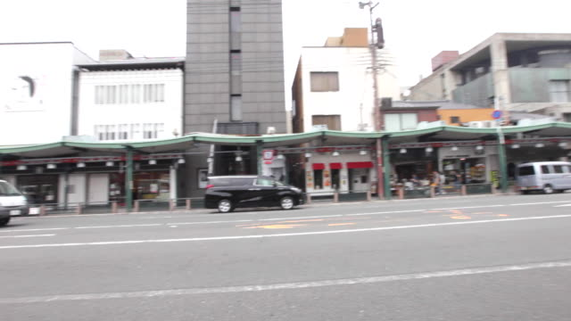 shijo avenue, which bisects the gion district, is a popular shopping area - gion stock videos and b-roll footage