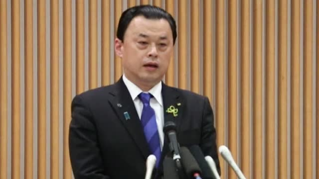 shimane gov. tatsuya maruyama said tuesday he will allow the tokyo olympic torch relay to go ahead, despite suggesting earlier this year that the... - shimane prefecture stock videos & royalty-free footage
