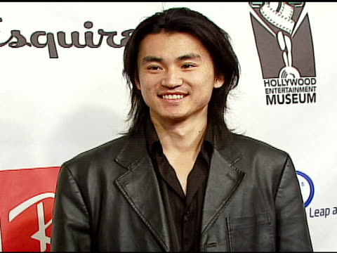 shin koyamada at the hollywood entertainment museum annual awards at esquire house 360 in beverly hills california on november 30 2006 - hollywood entertainment museum stock videos & royalty-free footage
