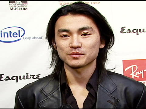 shin koyamada on esquire house at the hollywood entertainment museum annual awards at esquire house 360 in beverly hills california on november 30... - hollywood entertainment museum stock videos & royalty-free footage