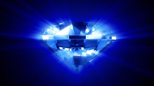 Shine of blue diamond (HD1080).