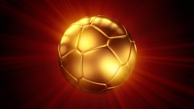 Shine of Gold Soccer Ball (HD1080)