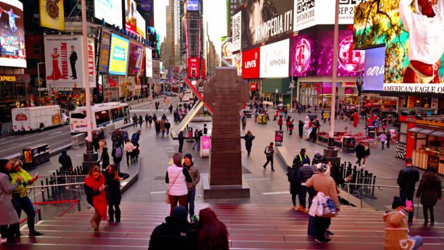 shine times square - new york city stock videos & royalty-free footage