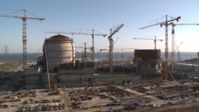 shinhan wool nuclear power station - 発電所点の映像素材/bロール