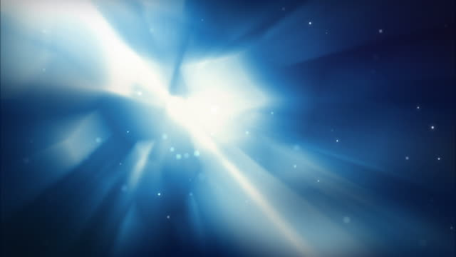 shining squares background loop - glowing blue (full hd) - blue background stock videos & royalty-free footage