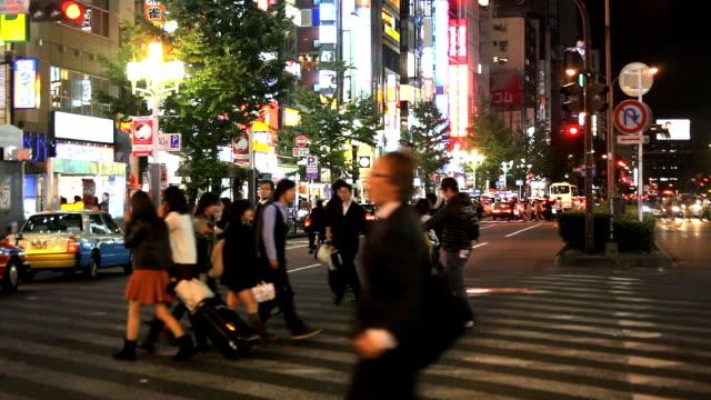 Shinjyuku Kabikicyo Tokyo at night