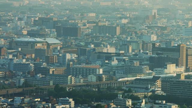 shinkansen through kyoto - shinkansen stock videos & royalty-free footage