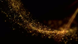 Shiny golden background.