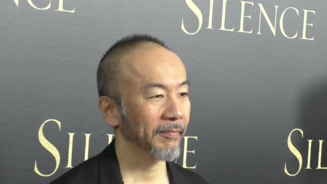 shinya tsukamoto at the premiere of paramount pictures' 'silence' on january 05 2017 in los angeles california - paramount pictures stock videos & royalty-free footage