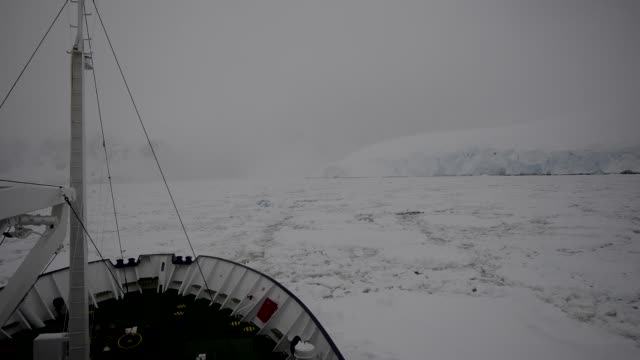 ship stuck in ice antarctica - trapped stock videos & royalty-free footage