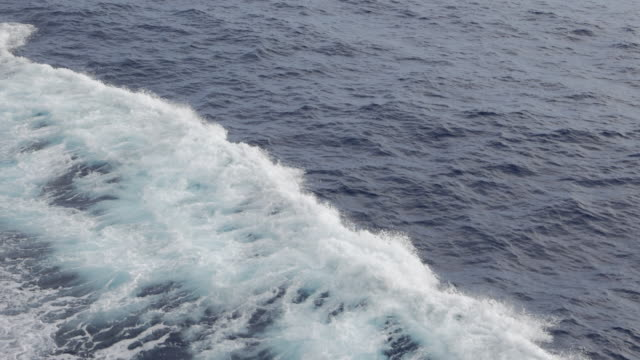 Ship wave from passenger ship