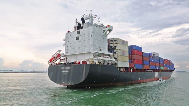 Verschepende Container