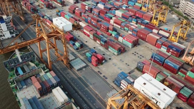 schifffahrt - handel treiben stock-videos und b-roll-filmmaterial