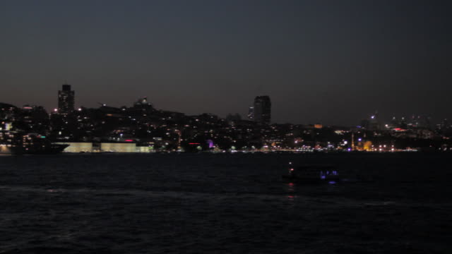 Shipping on the Bosphorus Straight (Istanbul)