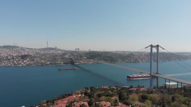 shipping - bosphorus stock videos & royalty-free footage