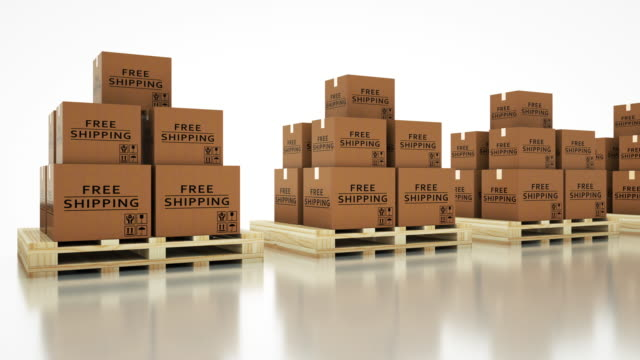 shipping - box container stock videos & royalty-free footage